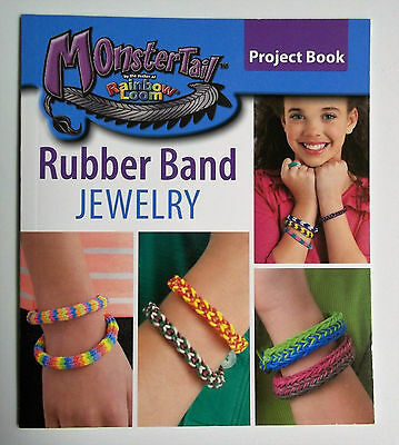 Monster Tail  Loom Rubberband Jewelry Instruction Book by Leisure Art New