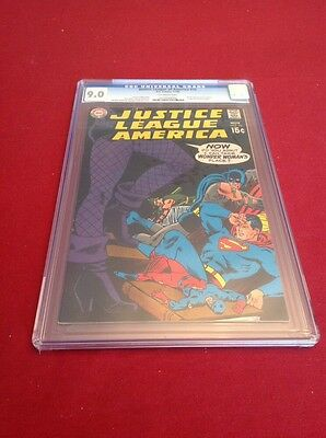 Justice League of America #75 CGC 9.0!  1ST BLACK CANARY! MEGA KEY! NOT CBCS!