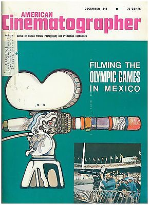 Dec 1968 issue of American Cinematographer Olympic Games in Mexico