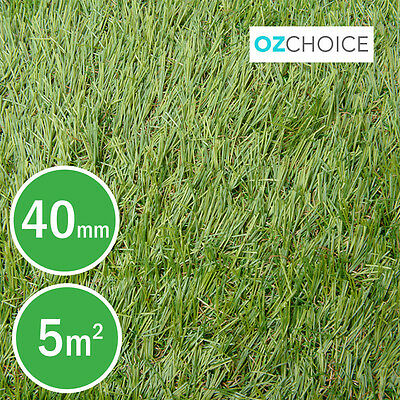 Pile Natural Synthetic Turf Artificial Grass Plastic Plant Fake Lawn 40mm 1x5m
