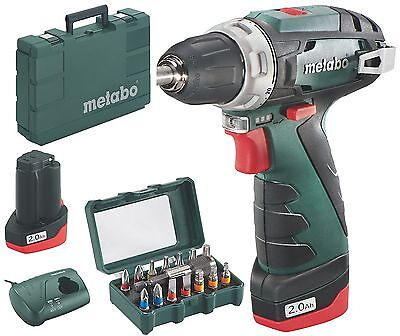 metabo akkubohrschrauber powermaxx bs basic set lc40 1x 2 0ah bitset led eur 94 00. Black Bedroom Furniture Sets. Home Design Ideas