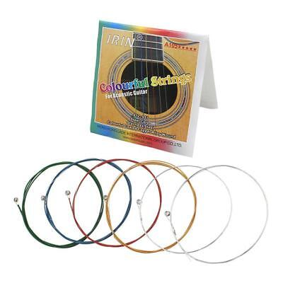 3 Set Guitar Strings Colorful Steel Set for Classic Guitar Replacements Gift
