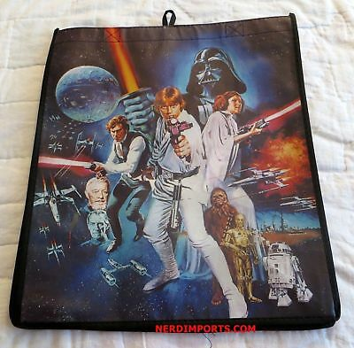 Star Wars Shopping Tote Bag - Movie Poster Print - New Limited Edition