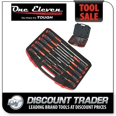 One Eleven (1-11) 13 Piece Screwdriver Set in Storage Case - 13PSS