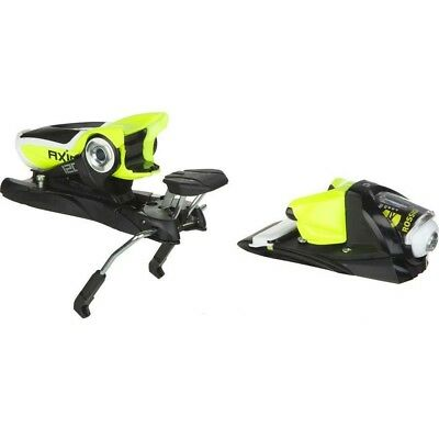 2016 Rossignol Axial 3 120 Dual WTR Black/Fluo Yellow B100 Ski Bindings