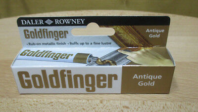 22ml (47,68 €/100ml) GOLDFINGER METALL-PASTE ANTIQUE GOLD METALLBRONZE