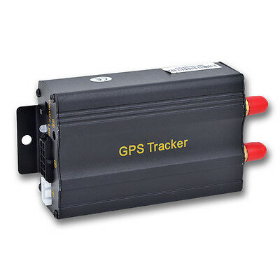 TK103A GPS Tracker GSM GPRS SOS GPS103A auto veicolo Locator spia SMS Realtime