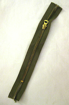 original USAAF ww2 Prentice zipper brass US Army Air Forces MINT