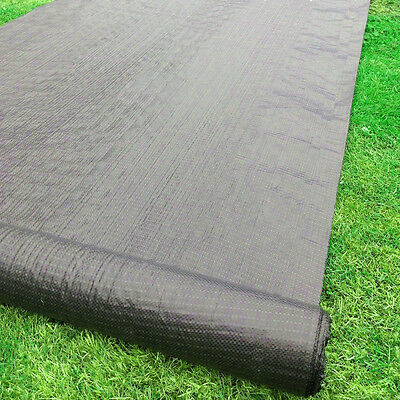 FABRIC GROUND SHEET Garden Landscape Membrane Weed Control Cover CHOOSE QTY
