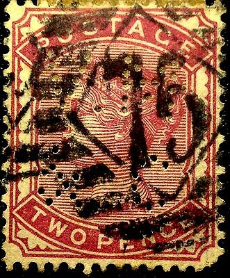 Great Britain Scott # 81 Used Stamp  Value At $90.00