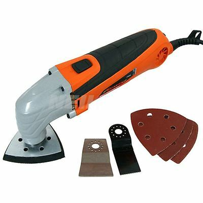 300W Multi Tool Oscillating Scraper Sanding Sander Cutting With Accessories