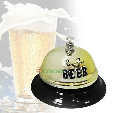 Bar Hotel Reception Bell Desk Counter Ringer For Beer Style Service Bells