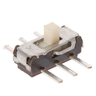 50Pcs 6 Pin SMD PCB 2 Position DPDT SMT Vertical Mini Toggle Switch Slide Switch