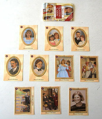 NEW American Girl Doll Nellie's Trading Cards Set of 10 RETIRED