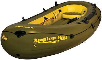 AIRHEAD ANGLER BAY Inflatable Boat, 6 person