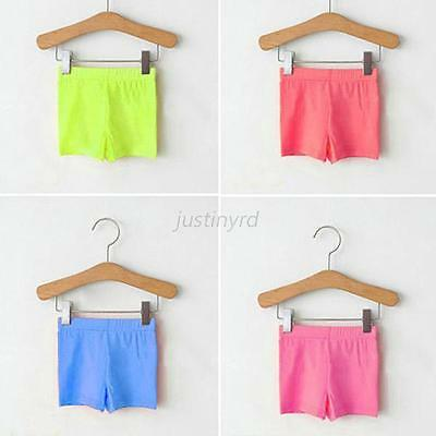 Trendy Kids Baby Girl Modal Short Pants Leggings Summer Stretch Safety Shorts
