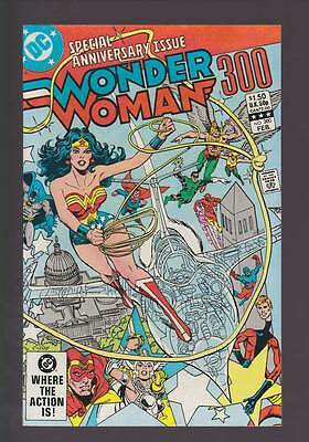 Wonder Woman # 300  76 page Anniversary Issue !  grade 9.0 scarce book !