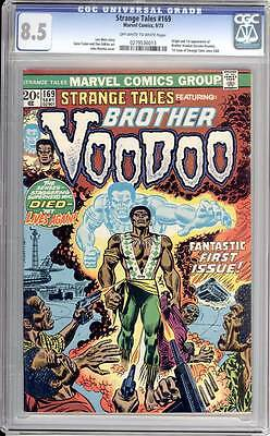 Strange Tales # 169  First appearance of Brother Voodoo !  CGC 8.5 scarce book !