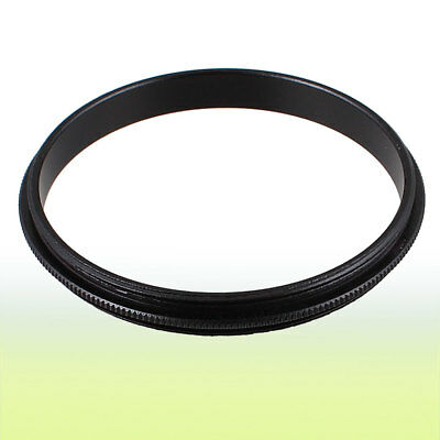 49mm-49mm 49mm Male to Male Step Ring Adapter Black for Camera