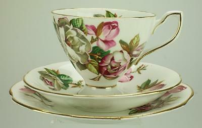 Taylor & Kent Rose Patterned Trio Cup, Saucer & Plate KC136