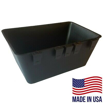Cage Cups (12pk) Black 1/2 Gal Large Hanging Water Cage Cups Chicken Pheasant
