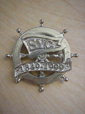 Maurice Milleur New Orleans Southern Yacht Club 150 Years 1849-1999 Pewter Pin