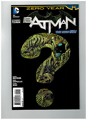 BATMAN #29  1st Printing - Zero Year - The New 52!              / 2014 DC Comics