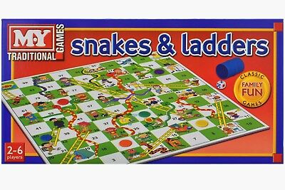 Tobar Snaks and Ladders Traditional Board Game