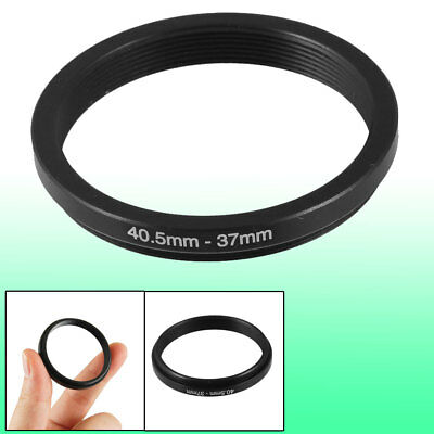 40.5mm-37mm 40.5mm to 37mm Black Step Down Ring Adapter for Camera