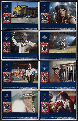 BRONCO BILLY/WILD WEST SHOW orig 1980 lobby card movie posters CLINT EASTWOOD