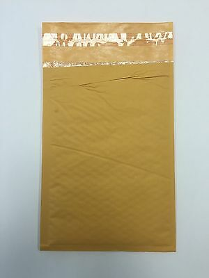 "250 #0 6X10 Imperfect Kraft BUBBLE MAILERS PADDED ENVELOP 6""x10"""