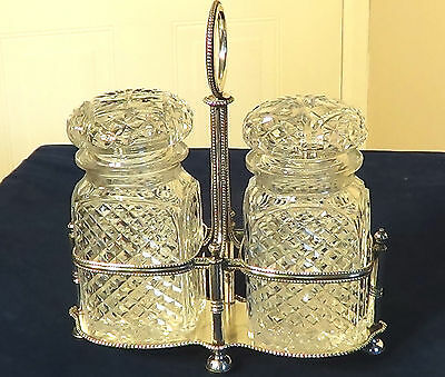 Superb Quality Edwardian,silver Plate Preserve Set By- H&l. Circa 1900.free P&p!