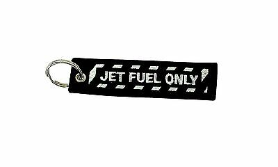 Insert after flight leychain key ring tag luggage Remove before jet fuel only