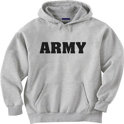 a1afe15a US Army hooded sweatshirt hoodie Men's sweater United States Army shirt