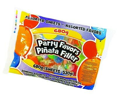 PARTY BAG FILLER - 680g of Assorted Sweets & Toys - Game/Fun (Pinata) (#80968)