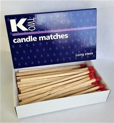 3 BOXES OF EXTRA LONG MATCHES -  Candles, BBQ, Gas Cookers - Same Day Despatch