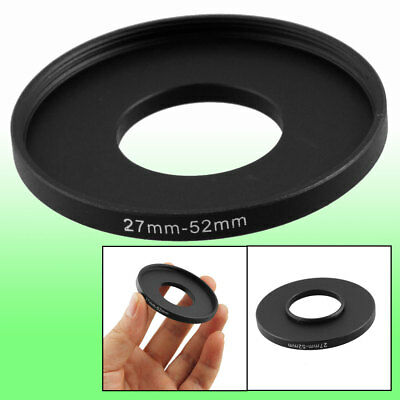 Replacement 27mm-52mm Camera Metal Filter Step Up Ring Adapter