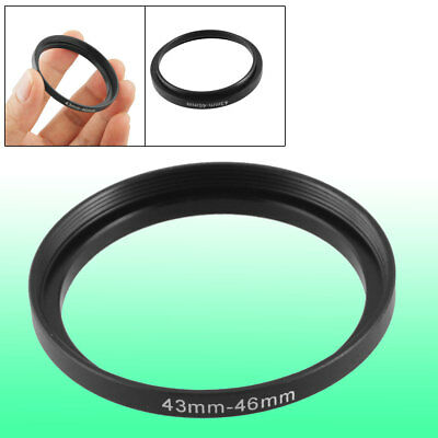 Replacement 43mm-46mm Camera Metal Filter Step Up Ring Adapter