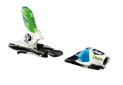 Look PX 10 Wide Blue Green Ski Bindings