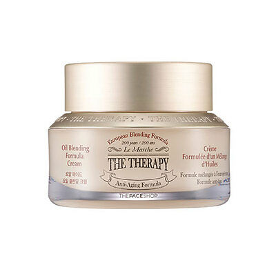 [The Face Shop] The Therapy Royal Made Oil Blending Cream 50ml