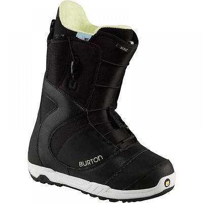 2013 Burton Mint Black/White 7.0 Womens Snowboard Boots