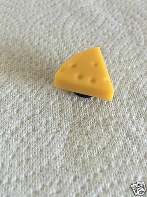 3D Piece Of Cheese Shoe Charm Fit Crocs Cheddar Cheese Shoe Charm Food Charm