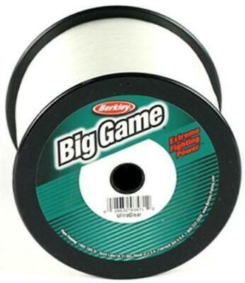 Berkley Big Game Monofilament Fishing Line 30lb 1760yds- Clear