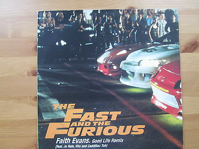 "FAITH EVANS (FEAT. JA RULE, VITA) - Good Life Remix Fast & Furious  - 12"" Single"