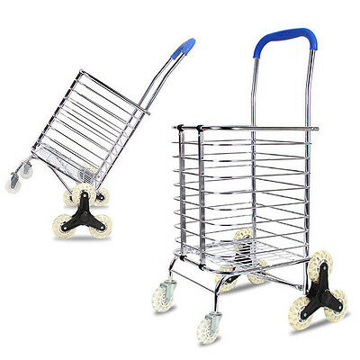 Climbing Stairs Folding Rotation Wheeled  Carrier Cart Files Storage Office Case