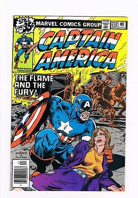 Captain America # 232 The Flame and the Fury ! grade 9.0 hot book !!