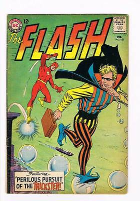 Flash # 142 Perilous Pursuit of the Trickster! Infantino cvr grade 4.5 scarce !