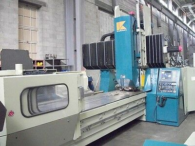 Kuraki KV-130 Bridge Type CNC Vertical Machining Center 4-Axis CNC Mill
