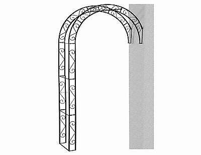 Siena Garden Cambridge 732696 Rose Arch 130 x 35 x 245 cm