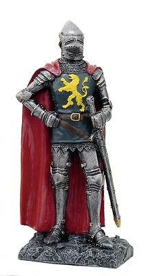 Historical German Knight Figure Standing With Sword 18cm Historical